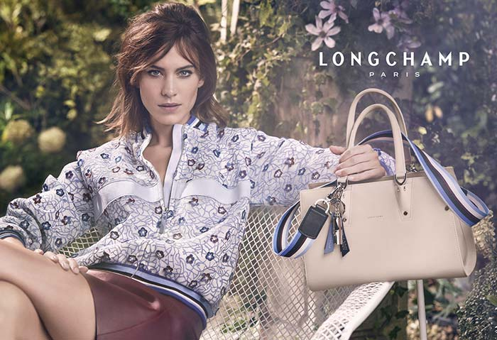 Alexa Chung Is the Star of Longchamp's Spring 2017 Campaign