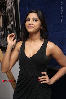 Telugu Actress Kamna Singh Stills in Black Dress at Bharat Thakur Art Exhibition Launch  0045.jpg