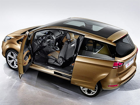 2011 ford b max concept gambar mobil ford. Black Bedroom Furniture Sets. Home Design Ideas