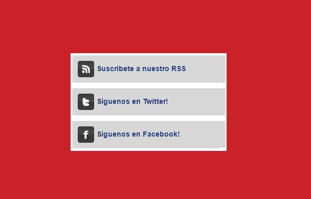 Widgets para Blogger – Widget de suscripciones