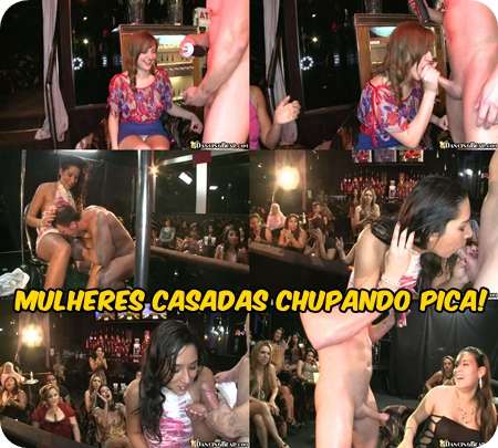 Mulheres Casadas chupando Pica Alheia! Dancing Bear