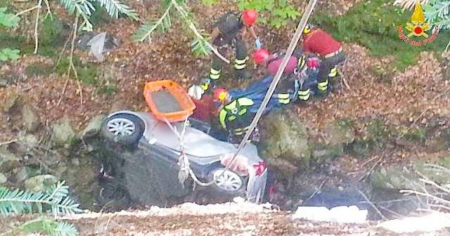 REGGIO CALABRIA. Incidente stradale Nardello: operazioni concluse alle ore 19