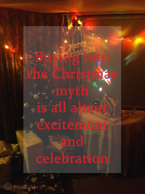 The Christmas Myth is all about celebration