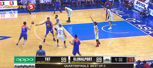 TNT KaTropa def. GlobalPort, 109-101 (REPLAY VIDEO) February 4