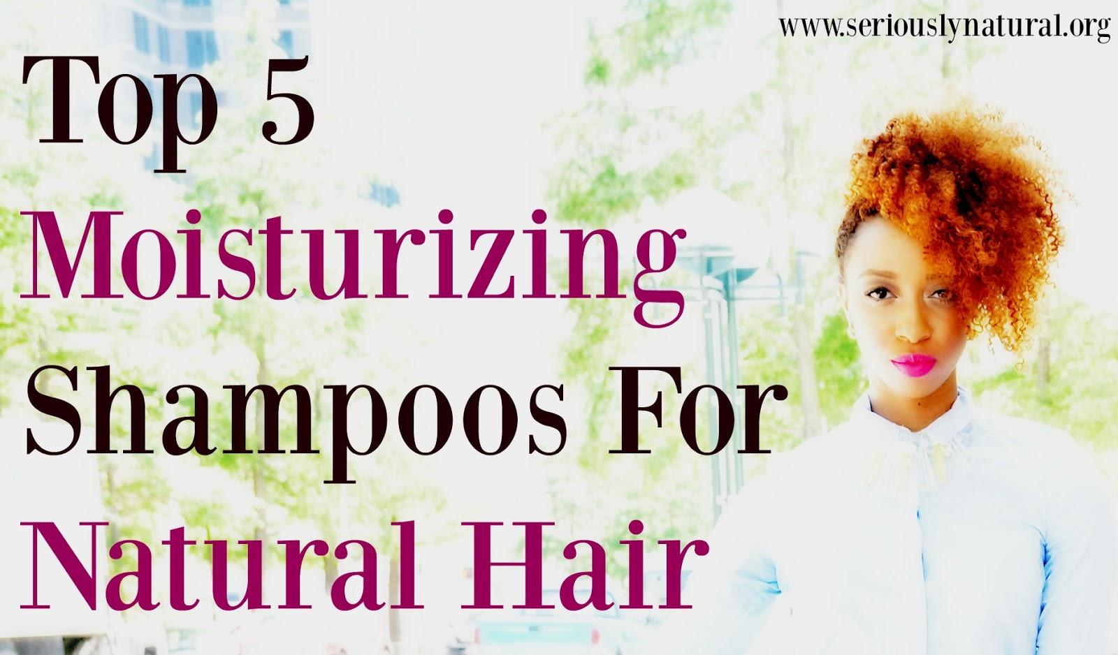 Top 5 Moisturizing Shampoos For Natural Hair