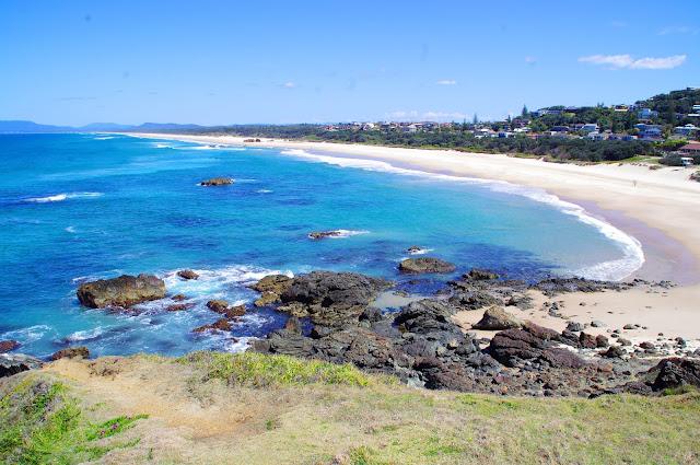 flashpacker experience with beautiful sandy beach