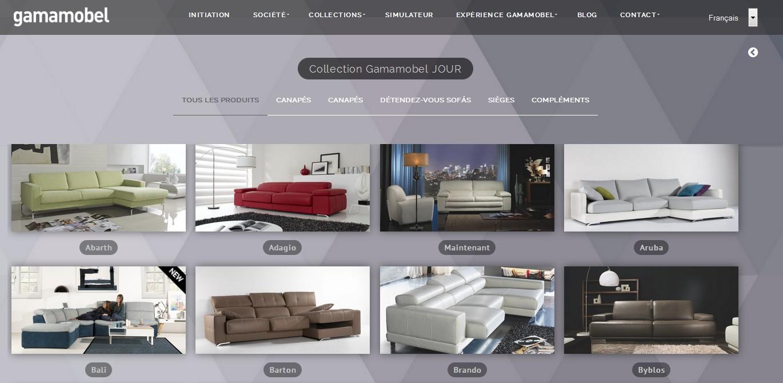 ventes privees sur internet gamamobel vente priv e. Black Bedroom Furniture Sets. Home Design Ideas