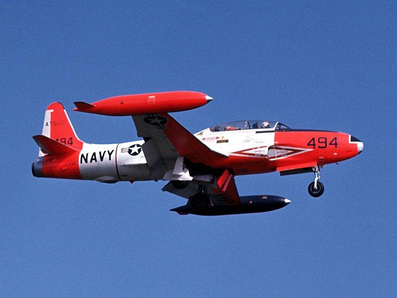 Lockheed TV-2 (the Navy T-33) color photos needed ...