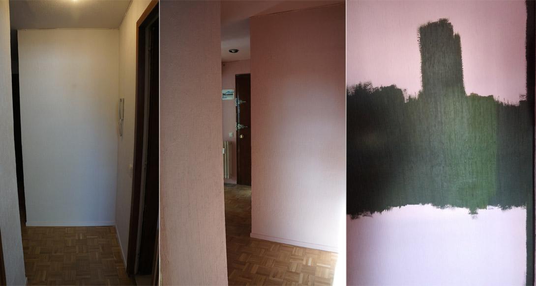 Planes para la nueva decoración del pasillo