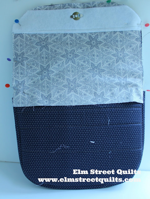 Elm Street Quilts Messenger Bag tutorial