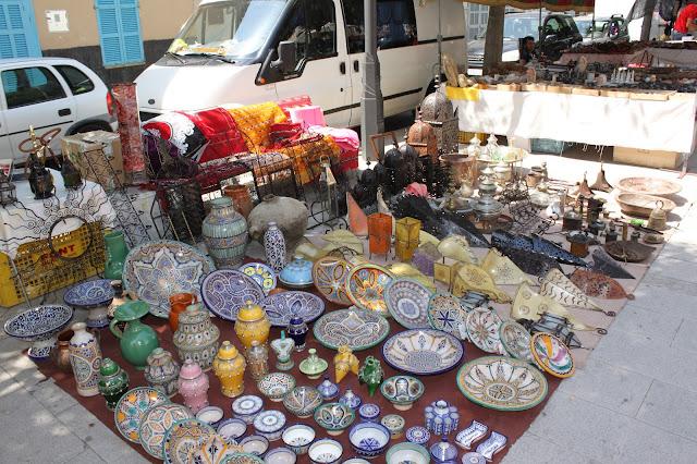 Flohmarkt in Sineu
