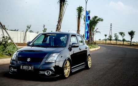 Modifikasi Mobil Suzuki Swift