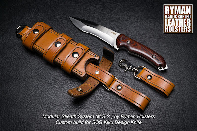 Modular Sheath System Bushcraft by Ryman Holsters