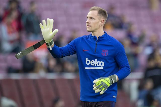 BLĐ Barca thuyết phục Ter Stegen ký vào bản hợp đồng mới.