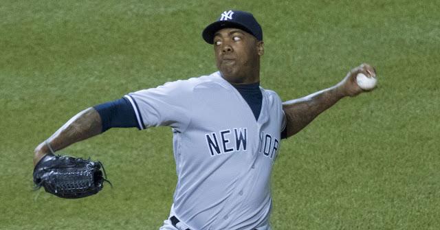 Chapman pudiera ser la pieza de cambio que garantizaría prospectos para el futuro de los Yankees
