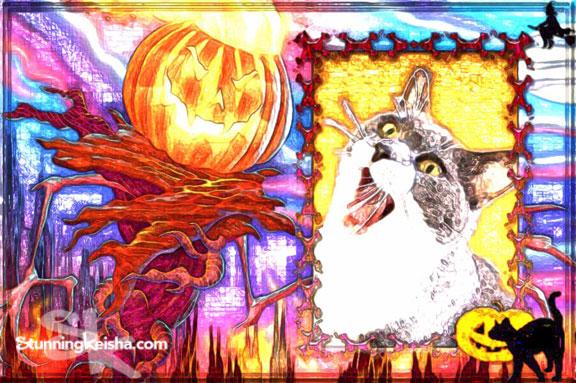 Halloween Coloring Art