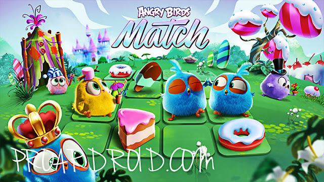 لعبة Angry Birds Match v2.4.0 مهكرة كاملة للاندرويد (اخر اصدار) logo