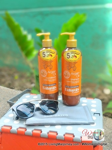 Watsons Organic Argan Oil Shampoo and Conditioner Review