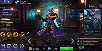 Skin Roger - Phantom Pirate