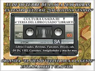 """6º FERIA LIBRO USADO """"LIBRARTE"""""""