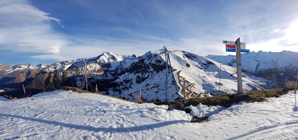 pistas de esquí en el ariege