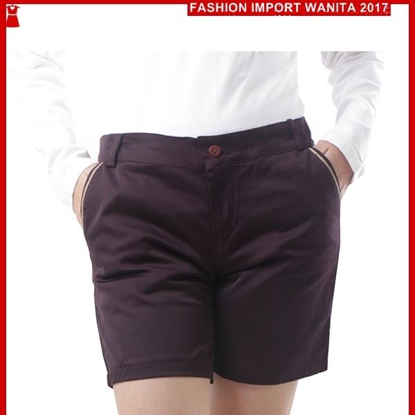 ADR075 Celana Kopi Coklat Pendek Hotpant Import BMG