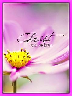Christ is our comforter