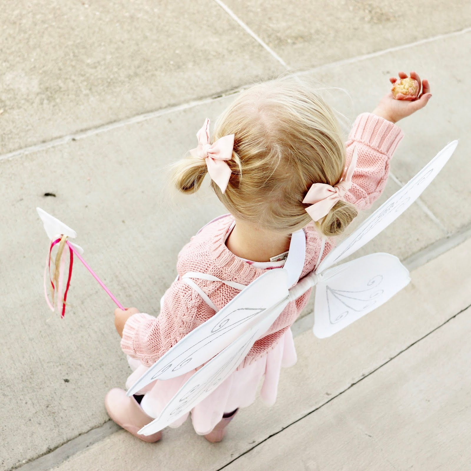DIY tooth fairy halloween costume