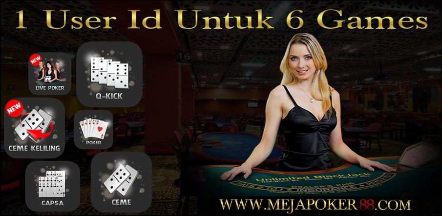 Poker uang asli bni