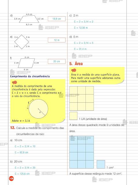 CADERNO DO FUTURO 6 ANO MATEMATICA PDF