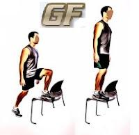 Fitness dan olah raga dirumah dengan step up