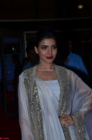 Samantha Ruth Prabhu cute in Lace Border Anarkali Dress with Koti at 64th Jio Filmfare Awards South ~  Exclusive 023.JPG