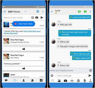 BBM Like iOS v3.2.2.8 Apk