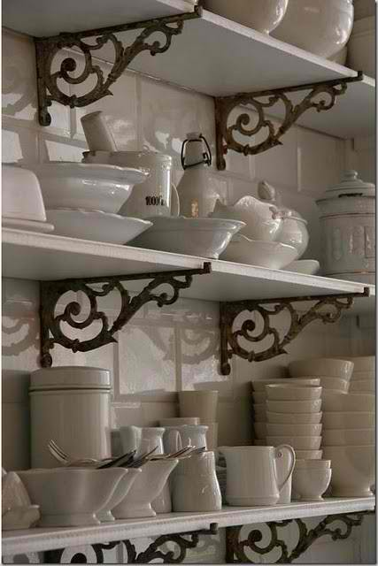 Texas Decor Rearranging The Tops Of My Kitchen Cabinets: Vignette Design: Kitchen Cabinets Vs. Open Shelves And The
