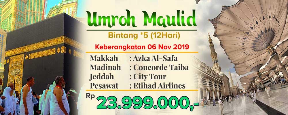 Promo Murah Umroh Maulid Arfa 2019