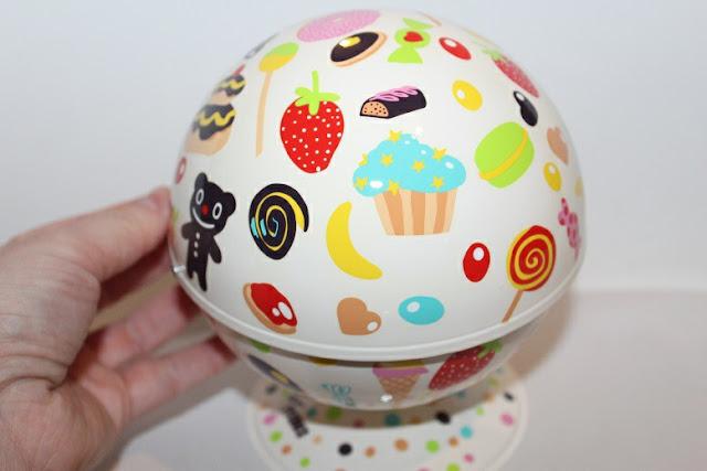 une boule à sucre vue de près