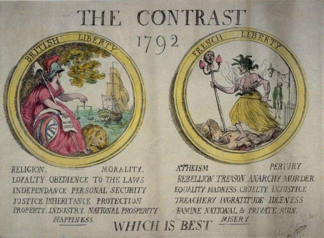 Английская пропаганда против французской революции