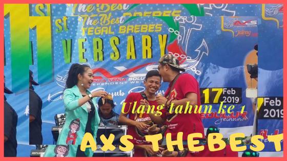 Anniversary ke 1 axs the best