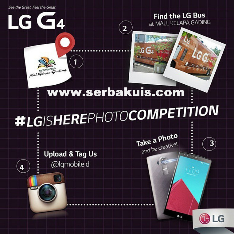 LG Is Here Photo Competition Berhadiah Voucher Belanja 600K