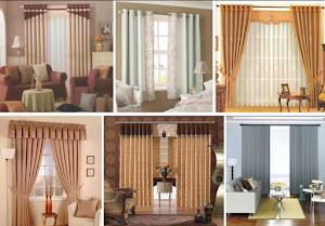 20 Contoh Gorden jendela mewah Untuk Rumah Minimalis Model Terbaru