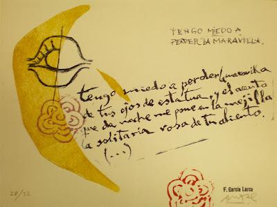 Poeta Amor García Lorca