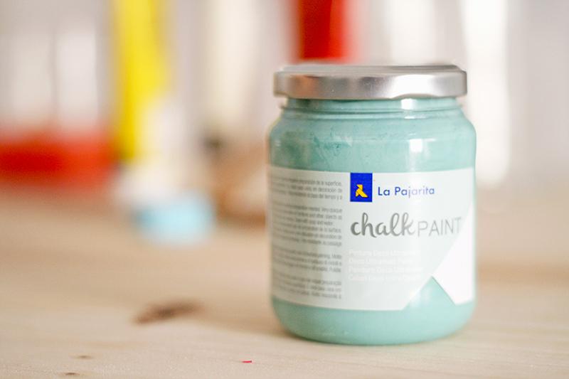 Pintura chalk paint La Pajarita en colaboración con Diyambo