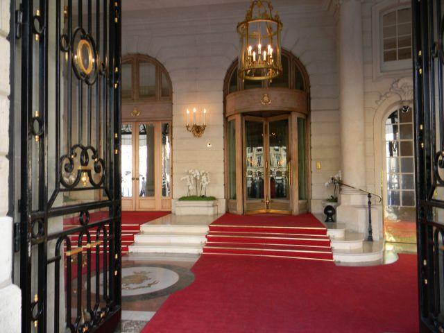 luksus, hotele paryskie, elegancja