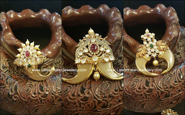 3 Puligoru Pendant Designs Latest Indian Jewellery Designs