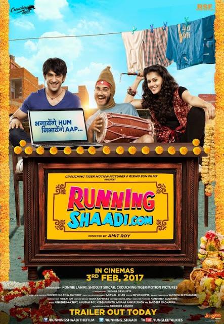 Poster Running Shaadi 2017 Full Hindi Movie Download HD 700MB