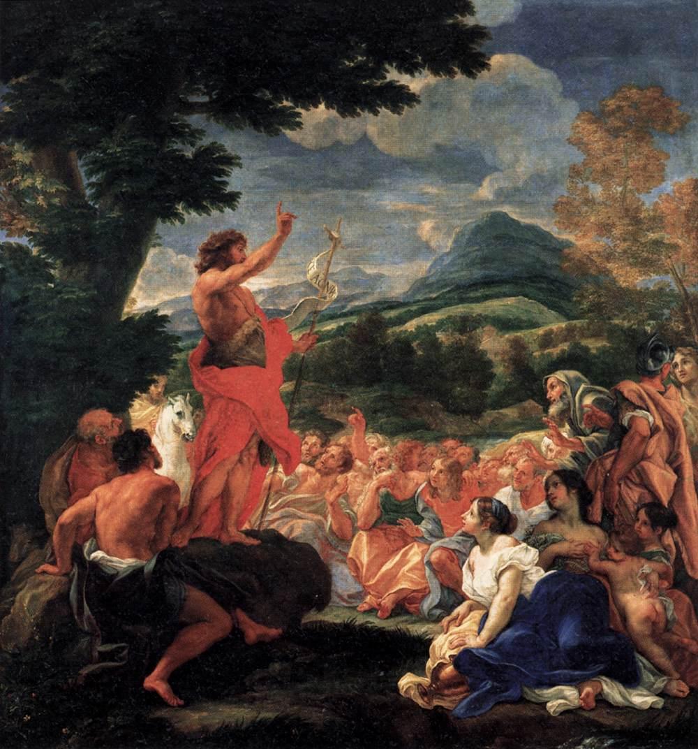 Raphael, 'Saint John the Baptist Preaching'