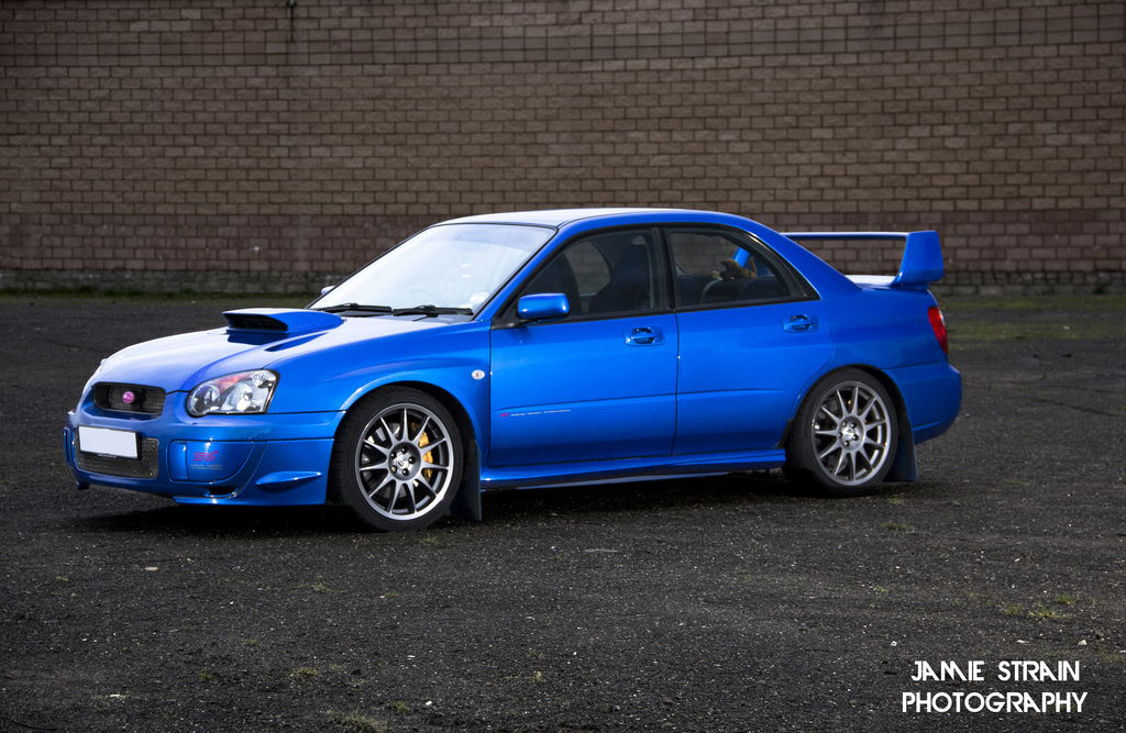 lowered, niskie, obniżone, sportowe, zawieszenie, jdm, Subaru Impreza II WRX STi GD