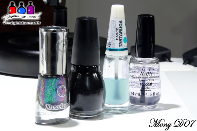 Mony D07, MonyD07 2018, multichrome, mutante, Simone D07, Flocado, flocado mutichrome, Dance Legend, Hell Money, Mystery Collection, esmalte, Alquimia das Cores 2018,