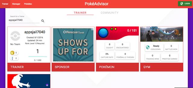 POKEADVISOR: Cara Cepat Mengetahui Status Akun Pokémon GO Anda!