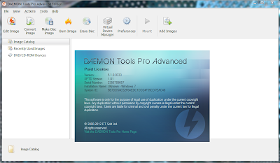 DAEMON Tools Pro Advanced v5.2.0. 0348 Including Crack MF